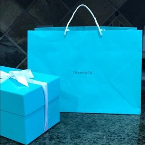 Tiffany & Co. Tiffany's blue paper bag